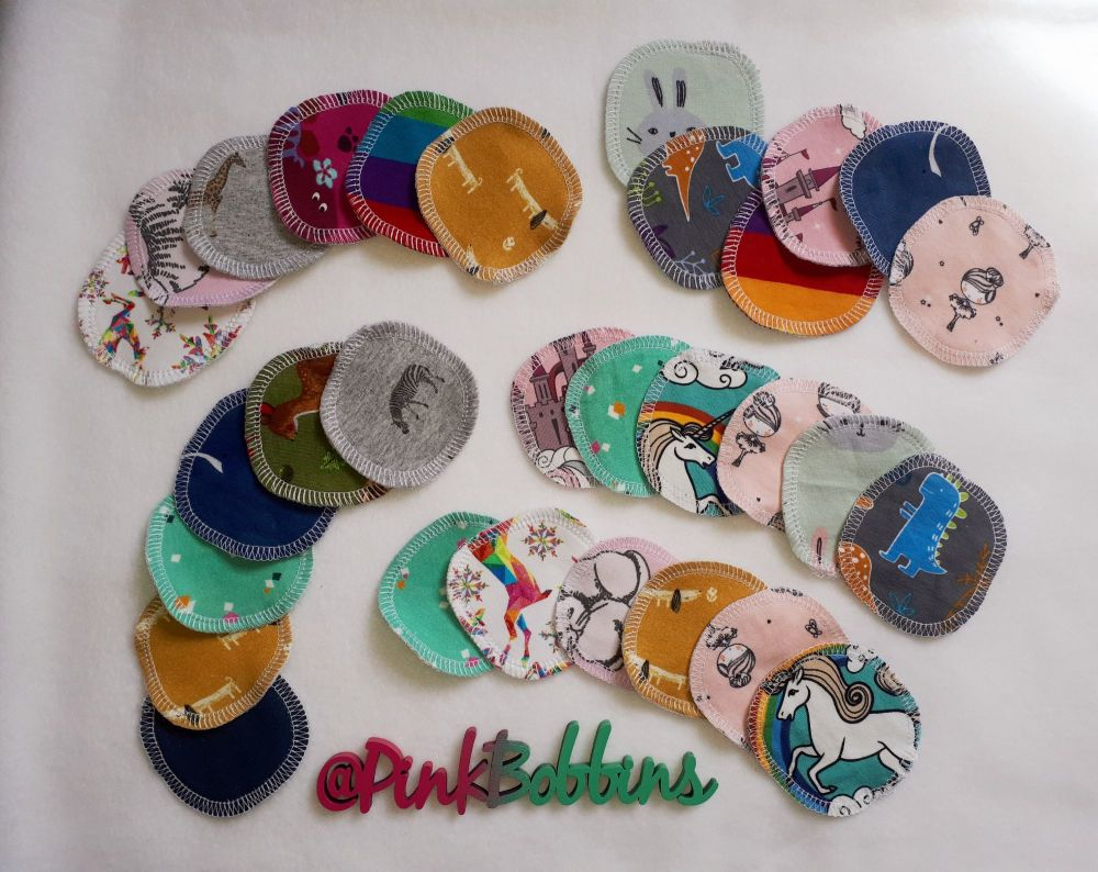 Reusable make-up remover pads - made to order
