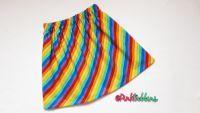 Rainbow stripe skirt - made to order