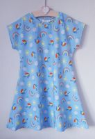 Rainbow skies comfy dress - made to order [exclusive design]