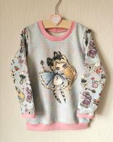 Alice in Wonderland sweatshirt - made to order