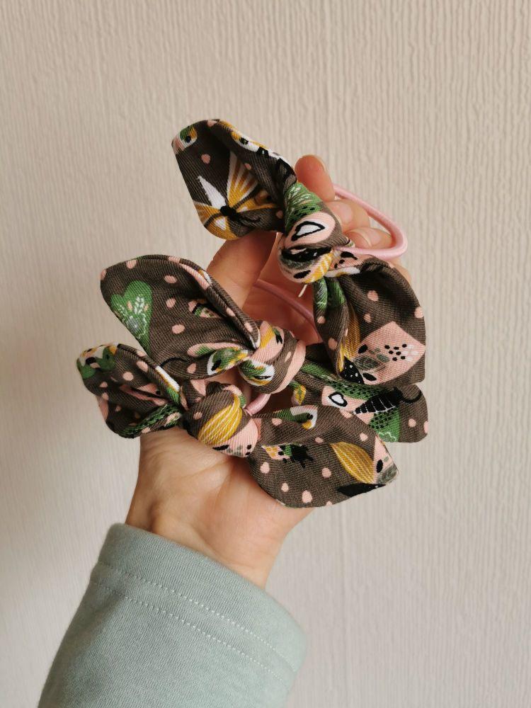 Hair tie - butterflies - in stock