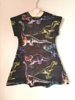 Dinosaur comfy dress - made to order