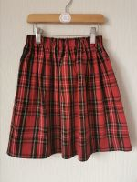 Tartan (red) skirt [NOT QUITE PERFECT: 7-8 YEARS. 50% OFF!]