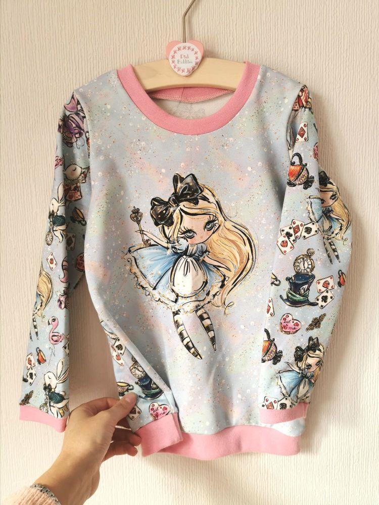 Alice in Wonderland sweatshirt - in stock