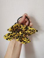 Hair tie - yellow leopard *LAST ONES* - in stock
