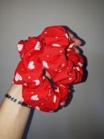 Heart scrunchie - made to order
