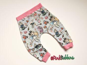 Alice in Wonderland harem joggers - in stock