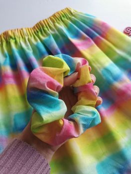 Watercolour scrunchie - made to order