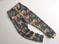 Farm animal/tractor leggings with optional bow cuffs - made to order