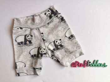 Panda jersey shorts [exclusive design] - made to order