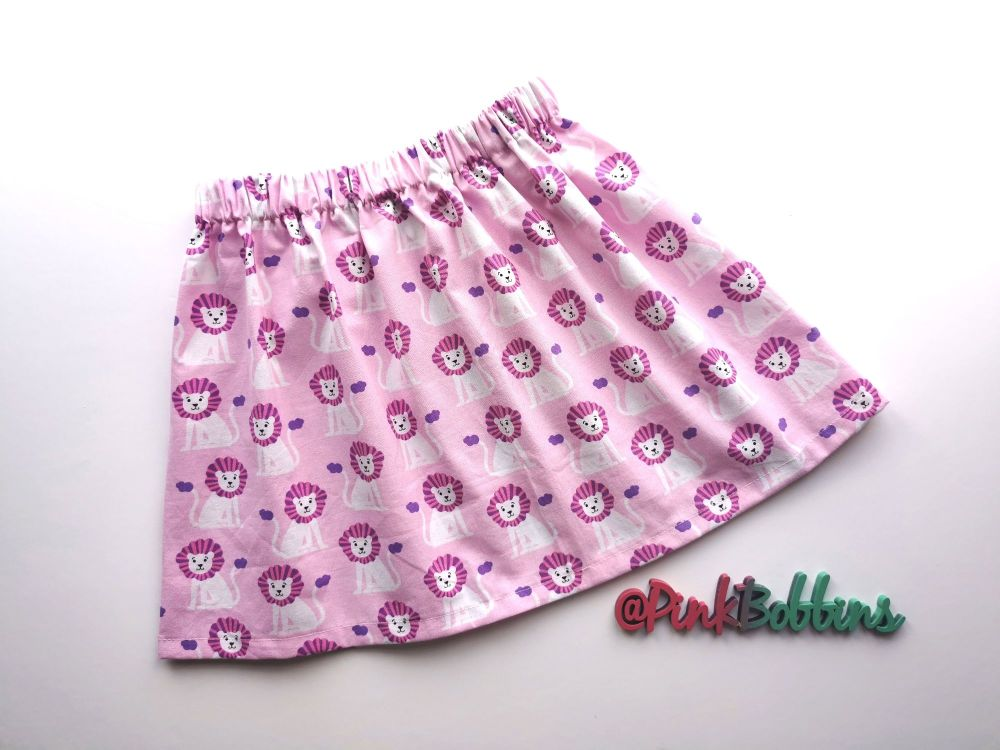 Lion skirt *LAST ONE* - 3-4 years - in stock