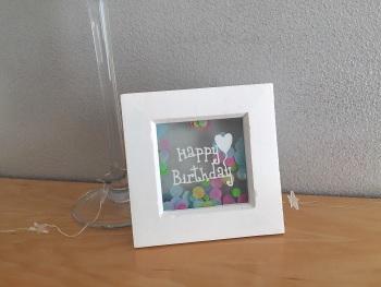 Mini - Happy Birthday/Penblwydd Hapus