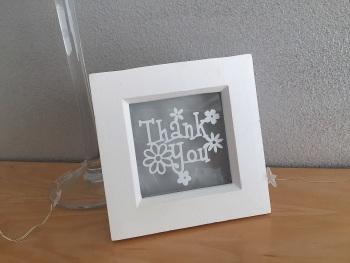 Mini Flower - Diolch/Thank You