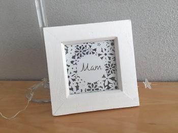 Mini Flower Square - Mam/Mum