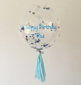Confetti Bubble Balloon - Three Colours