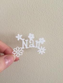 Mini Flower - Nan/Nain