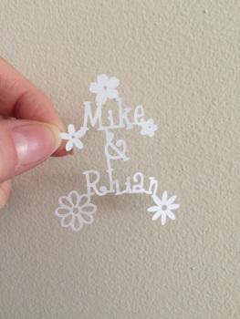 Mini Flower - Custom Names