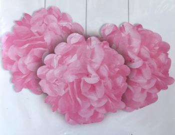 Light Pink Pom Poms - 3