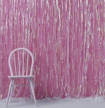 Fringe Curtain - Iridescent