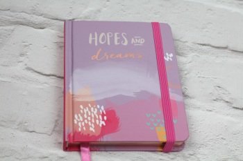 Hopes and Dreams A6 - Notebook