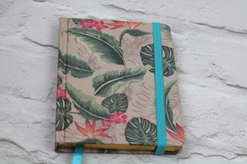 Tropical Leaf A6 - Notebook