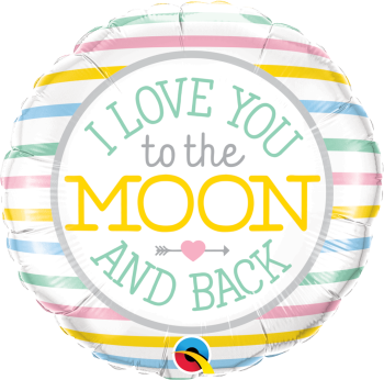 Love You to the Moon and Back Balloon