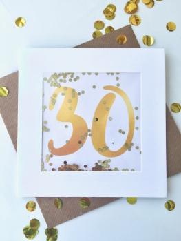 Gold - 30 - Card