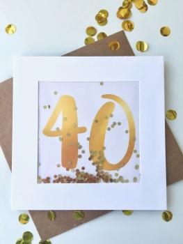 Gold - 40 - Card