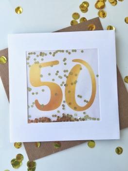 Gold - 50 - Card