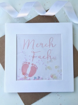 Pink Little Feet - Merch Fach - Card