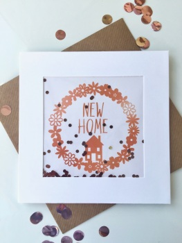 Rose Gold - New Home - Card