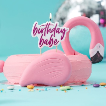 Birthday Babe - Candle