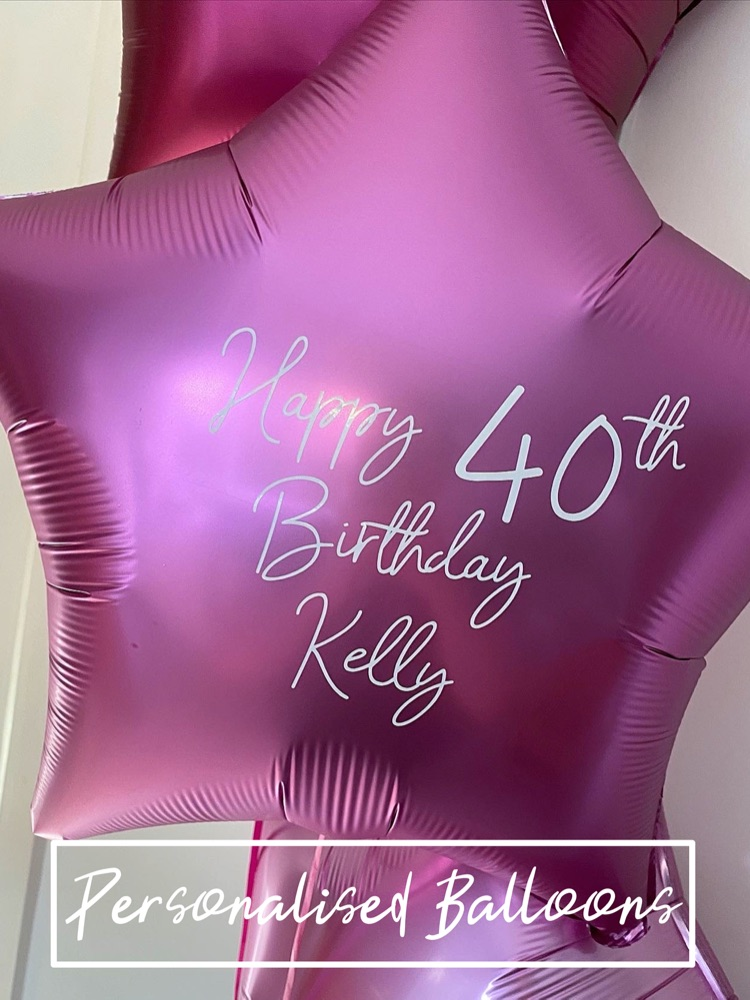 Personalised Foil Balloons