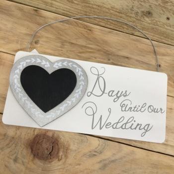 Wedding Countdown - Hanging Decoration