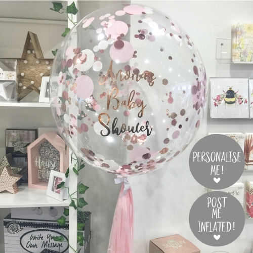 Personalised baby shower balloon, baby shower balloon, baby shower party |