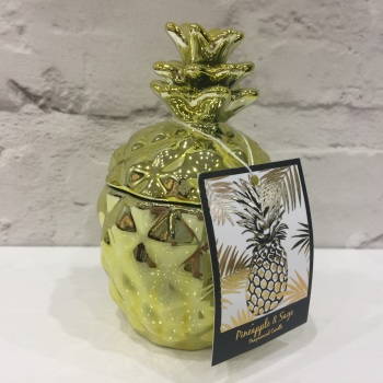 Gold Pineapple - Candle