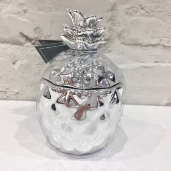 Silver Pineapple - Candle