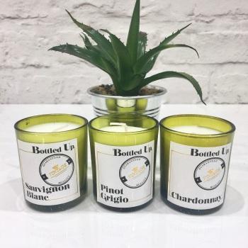 White Wine - Mini Bottle Candles