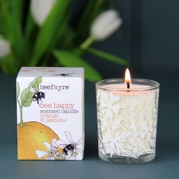 Orange & Jasmine - Votive Candle