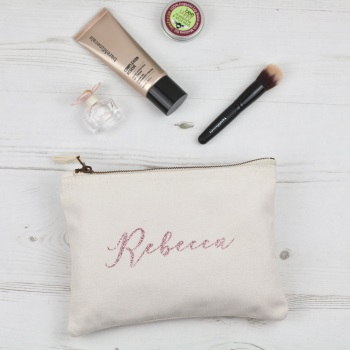 Personalised Pouch - Natural