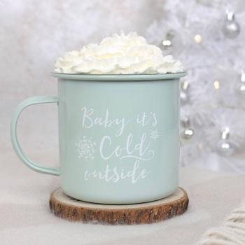 Baby it's cold... - Mug