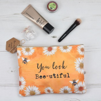 You look Bee-utiful - Pouch Bag