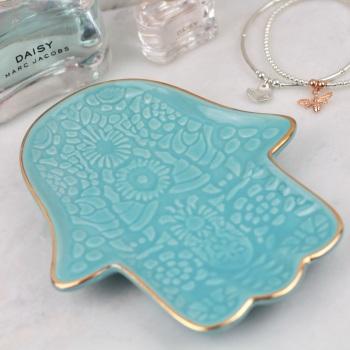 Hamsa - Jewellery Dish/Trinket