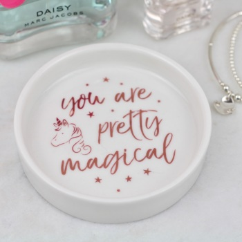 Unicorn - Jewellery Dish/Trinket