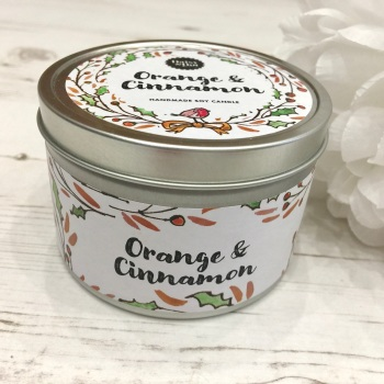 Orange & Cinnamon - Candle
