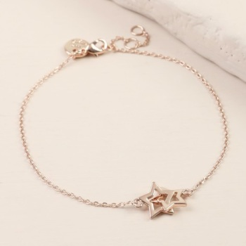 Star Bracelet - Rose Gold