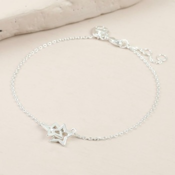 Star Bracelet - Silver