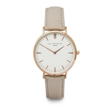 Elie Beaumont- Oxford Large - Stone - Watch