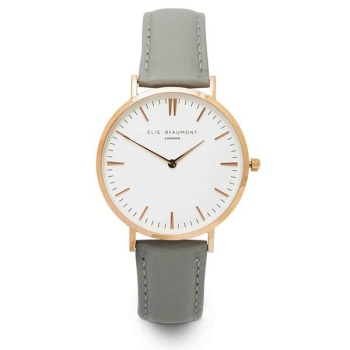 Elie Beaumont- Oxford Large - Dark Grey - Watch