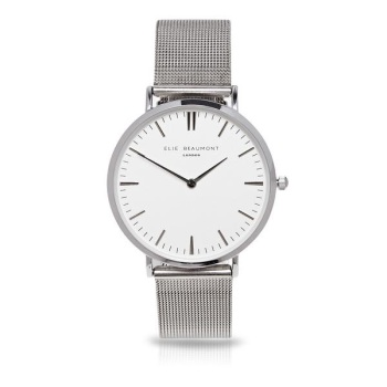 Elie Beaumont- Oxford Large - Mesh - Silver
